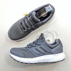 Adidas Galaxy 4 Grey/White Men's 7.5
